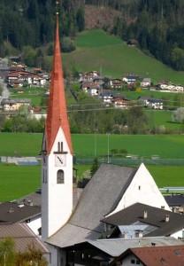 Fügen-Kirchturm
