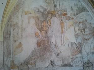 Fügen Michaelskapelle Fresko Anbetung d. Könige