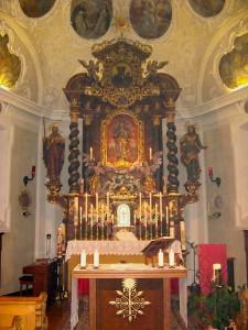 Fügen Marienberg Altar