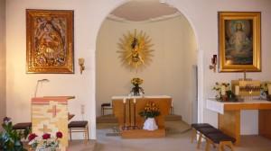 Fügen Altarraum Schlosskapelle