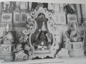 Fügen Kapfinger Kapelle Prager Jesulein