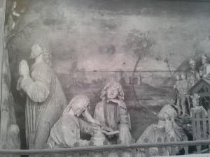 Fügen Pfarrkirche Ölbergszene