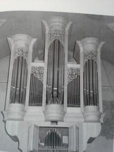Fügen Pfarrkirche Rieger Orgel 1983