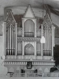 Fügen Pfarrkirche neugot. Verbau ORgel