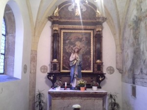 Fügen Michaelskapelle_Altar