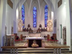 Fügen Pfarrkirche Chorraum